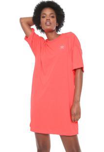 Vestido Adidas Originals Curto Trefoil Neon Rosa