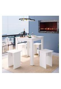Mesa Quadrada Para Cozinha Art In Móveis Ms700 Amalfi