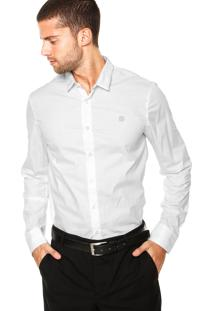 Camisa Calvin Klein Jeans Logo Branca