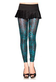 """Legging Leg Avenue (7450) - """"Shimmer Leopard Print Thighs"""""""