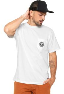 Camiseta Dc Shoes Especial Pocket Dye Bege