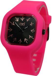 Relógio Bewatchoficial Pulseira De Silicone Barbie Setas Direção
