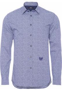 Camisa Masculina S-Duny - Azul