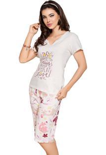 Pijama Vincullus Capri Branco