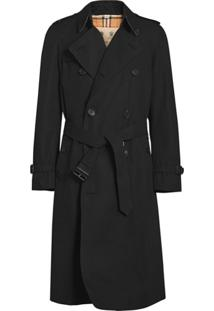 Burberry Trench Coat The Chelsea Heritage - Preto