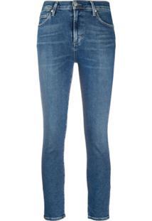 Citizens Of Humanity Calça Jeans Skinny Rocket Cintura Média - Azul