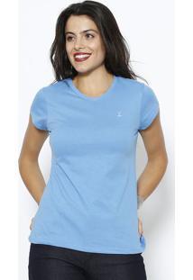 Camiseta Lisa - Azulclub Polo Collection
