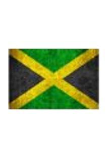 Painel Adesivo De Parede - Bandeira Jamaica - 1024Pnp