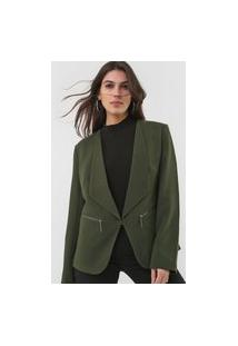 Blazer Dimy Recortes Verde