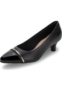 Sapato Feminino Salto Baixo Modare - 7314129 Preto 34