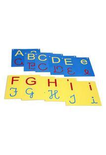 Jogo Educativo - Varal De Letras/Alfabeto 4 Em 1 - Carlu