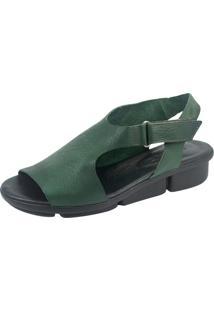 Sandália S2 Shoes Magali Verde Militar