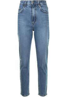 Nobody Denim Calça Jeans Skinny Frankie Cintura Alta - Azul