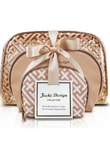 Necessaire Jacki Design Necessaire Dourado