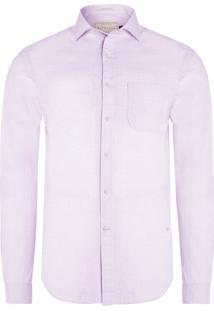 Camisa Masculina Rio Dobby – Rosa
