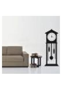 Adesivo De Parede Decorativo Relógio Antigo - P 125X50Cm