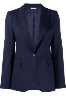 P.A.R.O.S.H. Blazer Com Abotoamento Simples - Azul