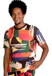 Camiseta T_Jama Urban Estampada