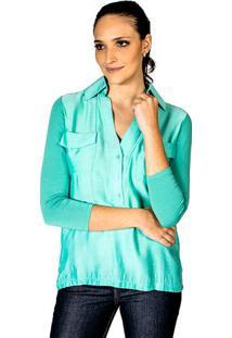 Camisa Leve Cynthia Hayashi