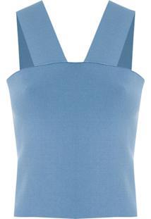 Egrey Blusa Lilac Tricô - Azul