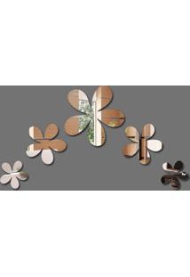 Espelho Decorativo Flores