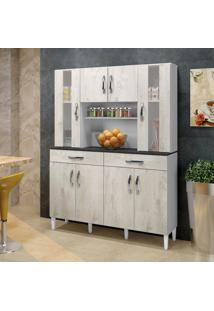 Armário De Cozinha Nevada 08 Portas 02 Gavetas - Arte Móveis