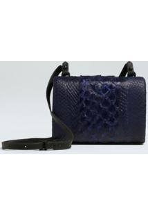 Pirarucu And Salmon Crossbody Clutch-Carbono - Un