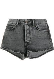 Acne Studios Short Jeans - Cinza