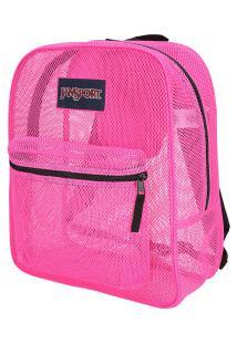 Mochila Jansport Mesh Pack - 32 Litros - Rosa Escuro
