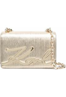 Karl Lagerfeld X Ramadan K/Signature Shoulder Bag - 780