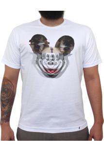 Glitchey - Camiseta Clássica Masculina