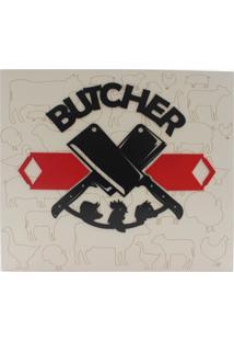 Quadro Zona Criativa Butcher Bege
