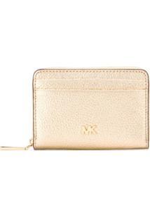 Michael Michael Kors Carteira Mini - Dourado