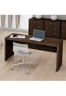 Mesa Para Escritório Me4109 Tabaco - Tecno Mobili