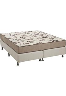 Cama Box Queen Com Colchão Physical D28 Branca