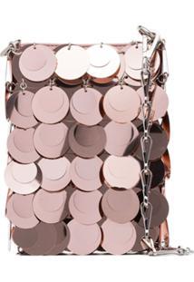 Paco Rabanne Mini Sparkle 1969 Sequin Bag - Rosa