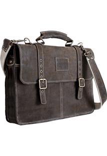 9a7a508922 ... Bolsa Carteiro Hylberman Vintage Em Couro Para Notebook 15