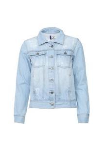 Jaqueta Jeans Roxy My Spot Azul