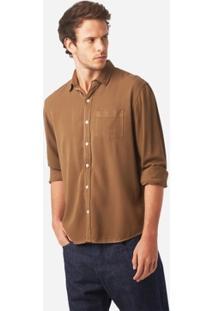 Camisa Foxton Ml Sarja Light Masculina - Masculino