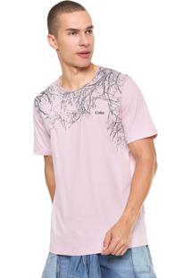 Camiseta Coca-Cola Jeans Estampada Rosa