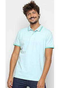Camisa Polo Colcci Logo Masculina - Masculino-Verde Claro