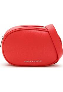 Armani Exchange Pochete Com Logo - Vermelho