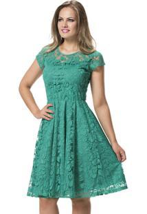 Vestidos verde jade claro