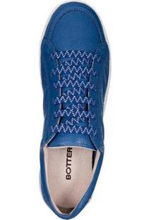 37f53cef4 Tênis Couro Bottero Feminino - Feminino-Azul
