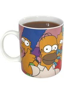 Caneca Mágica Fámilia Os Simpsons Geek10 - Multicolorido