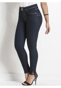 Calça Jeans Sawary Levanta Bumbum Azul