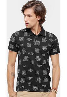 Camisa Polo Colcci Good Vibes Masculina - Masculino