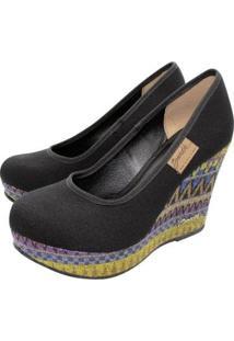 Scarpin Barth Shoes Land - Feminino-Preto
