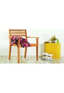 Cadeira Quarter Apoio Para Braços Jatobá Mão E Formão