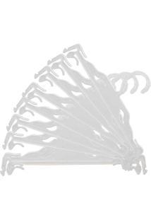 Cabide Para Lingerie Caixa Com 50 Unidades Branco Nacional